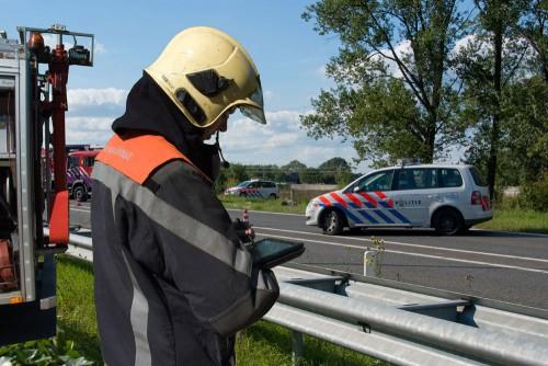 incident bestrijding met behulp van digitale kaart